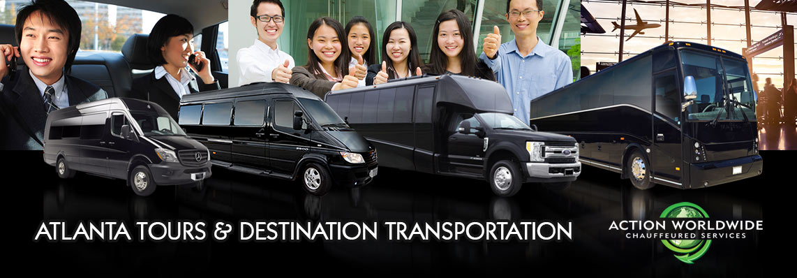 Chinese Travel Atlanta Transportation for Travel Agents & Tours