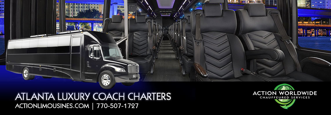 Atlanta's Executive Coach Bus Charter & Group Tranportation