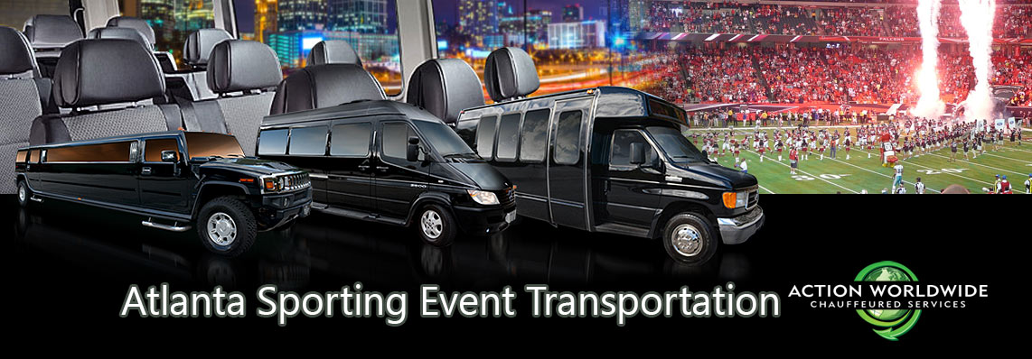 Atlanta Sporting Event Group Transportation