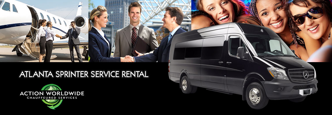 Sprinter Rental Service in Atlanta, GA