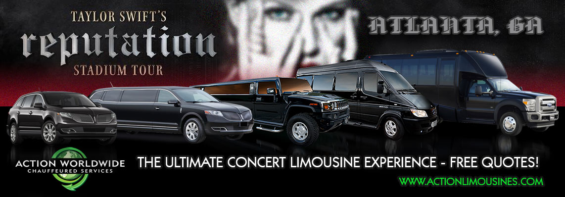Taylor Swift Reputation Tour Atlanta Limo Services
