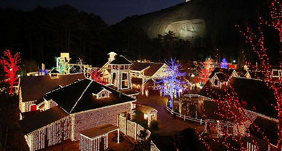 magical nights of lights at lake lanier islands a stone mountain christmas