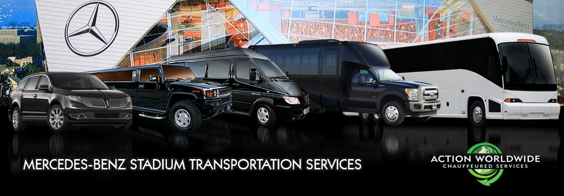 Mercedes-Benz Stadium Transportation & Falcons Limo Services