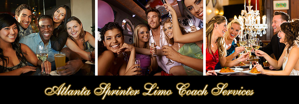Atlanta Limousine Sprinter Party Bus Service Rentals