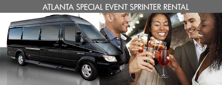 Atlanta Sprinter Service Rental for Special Events